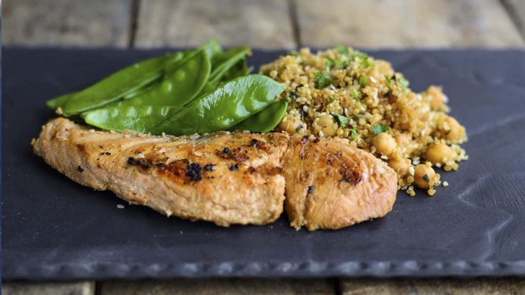 Moroccan Honey Salmon
