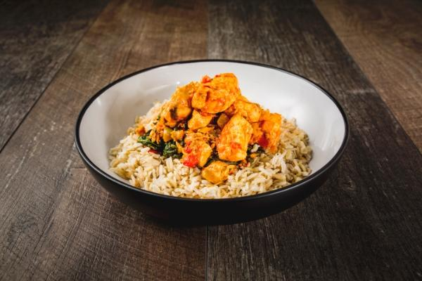 Chicken Balti & Brown Rice
