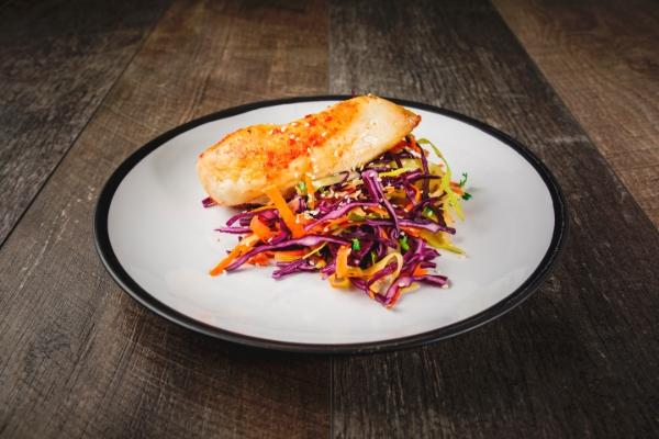 Chilli & Ginger Chicken Served With Slaw