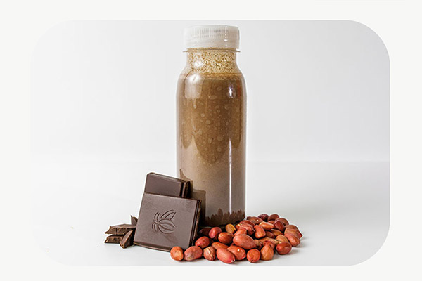 Chocolate & Peanut Protein Smoothie