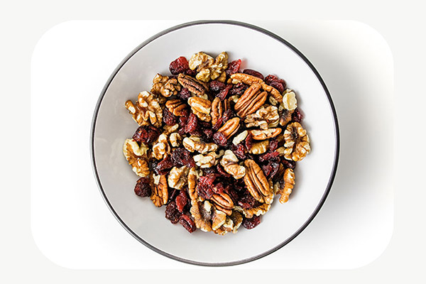 Cranberries, Walnuts, Pecans
