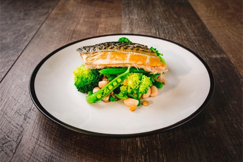 Mackerel, Broccoli & Caper Salad
