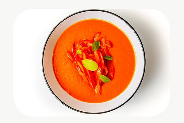 Roasted Red Pepper and Squash Soup