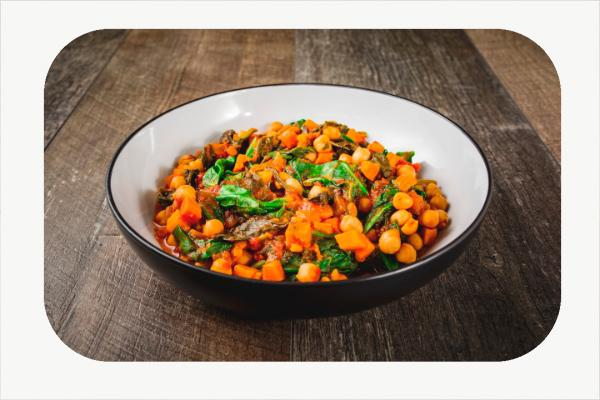 Spinach and Sweet Potato Stew
