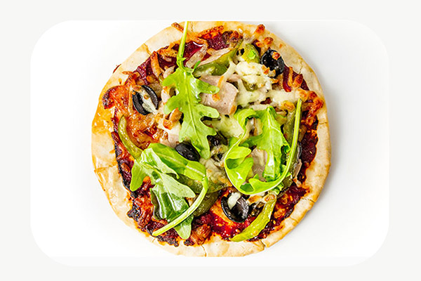 Tuna Olive & Rocket Pizza